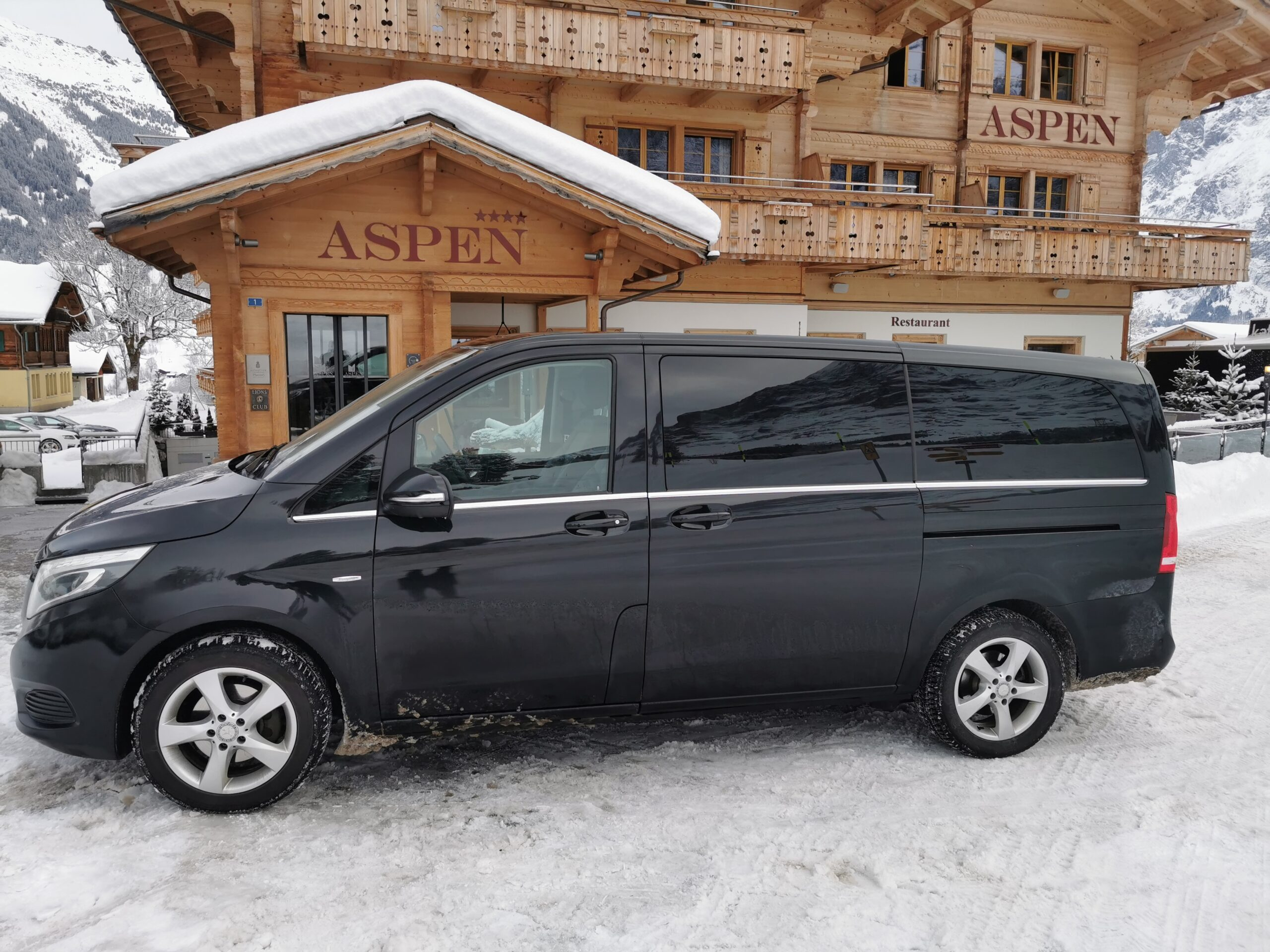 book this van for comfortable ski transfers to or from zurich airport